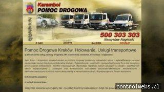 Namek - pomoc drogowa w Krakowie