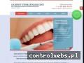 Screenshot strony www.stomatolog.gdansk.pl