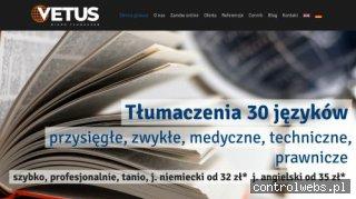 Biuro tłumaczeń Vetus