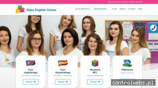 Baby English Center - szkoła angielskiego dla dzieci