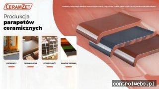 CERAM-ZET parapet ceramiczny zewnętrzny