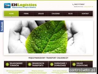 ehlogistics.pl - międzynarodowy transport chłodniczy