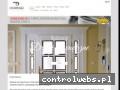 Screenshot strony www.dubinski.com.pl