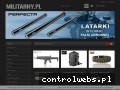 Screenshot strony militarny.pl