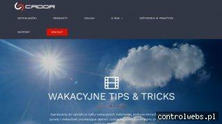 Cador Consulting - Sprzedaż i wdrożenie CAD/CAM/CAE