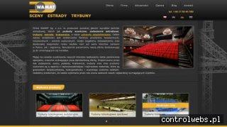 www.wamat.com.pl - Producent trybun boiskowych i kratownic