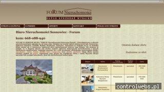 Domy i mieszkania - Sosnowieckie Biuro Nieruchomości FORUM