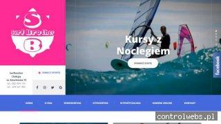 Kursy kitesurfingu , szkoły windsurfingu