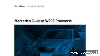 Taksówka mercedes E klasa w Katowicach na Śląsku - Taxi nr 7