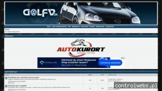 Forum posiadazczy i miłośników VW Golfa V