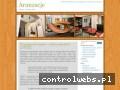 Screenshot strony www.aranzacje.info.pl