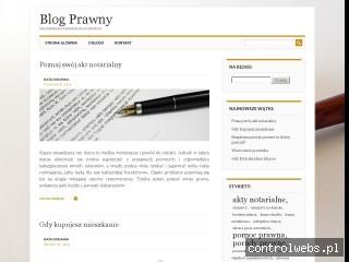 Interpretacje prawa - blog