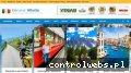Screenshot strony www.kierunekwlochy.pl