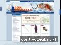 Screenshot strony www.domwedkarza.pl
