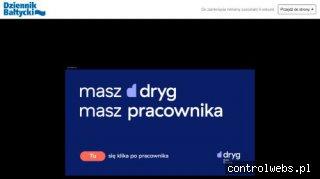 Dziennik Bałtycki -  internetowe wydanie dziennika regionaln