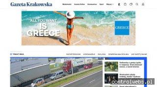 Gazeta Krakowska - internetowe wydanie dziennika regionalneg
