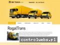 Screenshot strony www.rogaltrans.pl