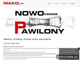 MAKO System - producent pawilonów