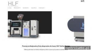 HLF włoskie ekspresy do gastronomii