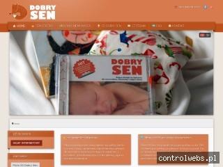 Dobry Sen - CD na kolkę, ząbkowanie i płacz niemowlaków