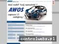 Screenshot strony awos.com.pl