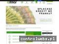 Screenshot strony www.e-dolar.pl