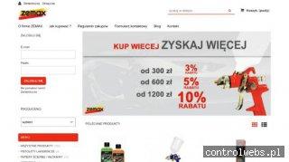 sklep.zemax.pl - impregnaty do kamienia