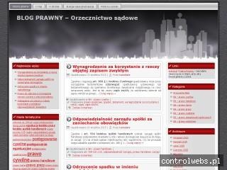 Blog prawny