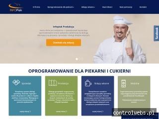 Program dla piekarni Infopiek