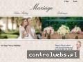 Screenshot strony www.salonmariage.com.pl