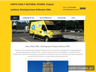 Iveco Daily Natural Power - Ekologiczny pojazd zasilany CNG
