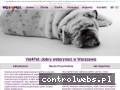 Screenshot strony www.vet4pet.pl