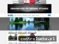 Screenshot strony www.odpowiedzinatrudnepytania.pl