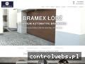 Screenshot strony bramexlodz.pl