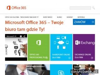 Microsoft Office 365 - dla poprawy efektywności pracy