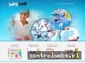 Screenshot strony www.mpslab.com.pl