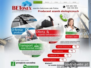 Szamba betonowe BETONEX