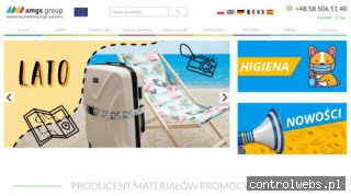 Reklamowe smycze sublimacyjne - producent smyczy AMGSGROUP