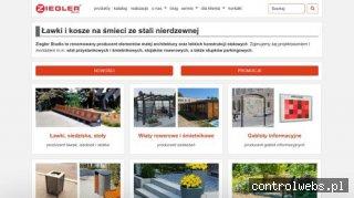 ZIEGLER STUDIO donice beton architektoniczny