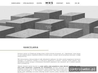 Kancelaria prawnicza w Rzeszowie - MHS