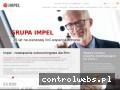 Screenshot strony impel.pl