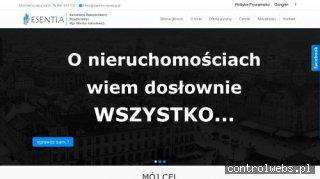 Operat szacunkowy Wrocław - ESENTIA