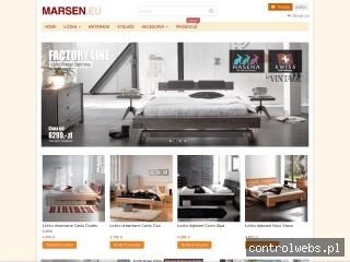 Łóżka Marsen