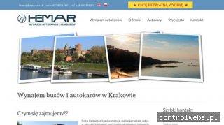 Wynajem busów w Krakowie - Hemarbus