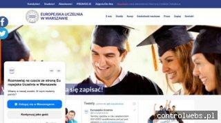 studia pedagogika Warszawa - http://eu.edu.pl