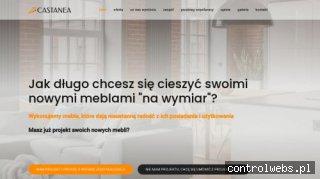 Meble kuchenne na wymiar meblecastanea.pl