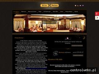 VILLA PALLAS hotel Olsztyn centrum