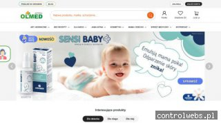OLMED kosmetyki dla niemowląt