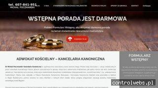 Adwokat kościelny Warszawa