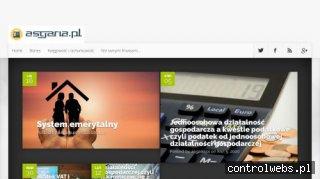 Portal ekonomiczny Asgaria